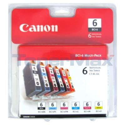 CANON BCI-6 MULTI-COLOR INK CART CMYKLCLM